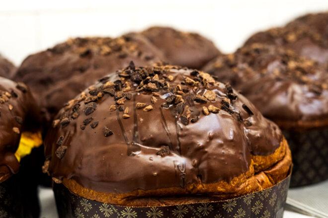 panettoni al cioccolato gianduia